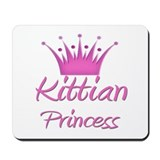 Kittian Princess Mousepad