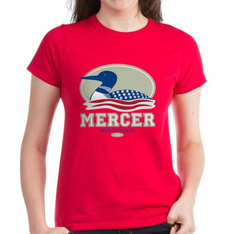 Loon Day Mercer Women's Dark T-Shirt