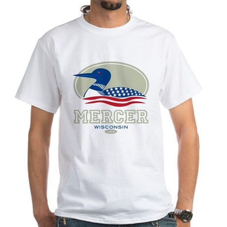 Loon Day Mercer White T-Shirt