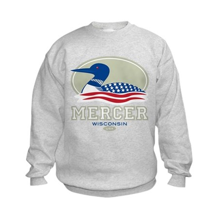Loon Day Mercer Kids Sweatshirt