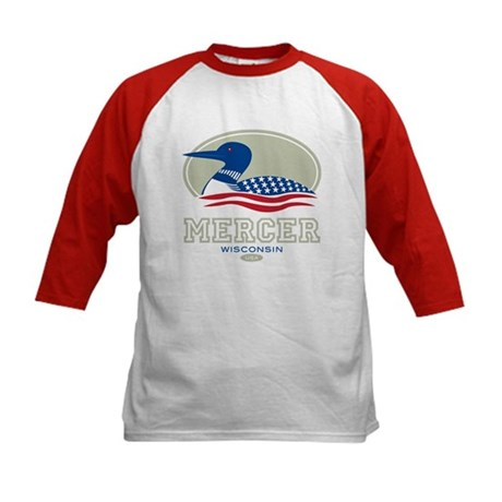 Loon Day Mercer Kids Baseball Jersey