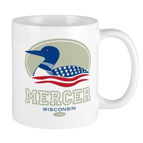 Loon Day Mercer Mug