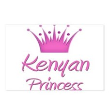 Kenyan Princess Postcards (Package of 8)