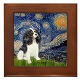 Starry Night / Cavalier Framed Tile