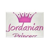 Jordanian Princess Rectangle Magnet
