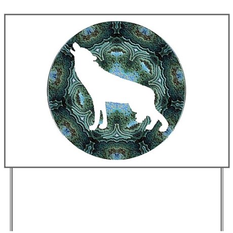 White Wolf Yard Sign