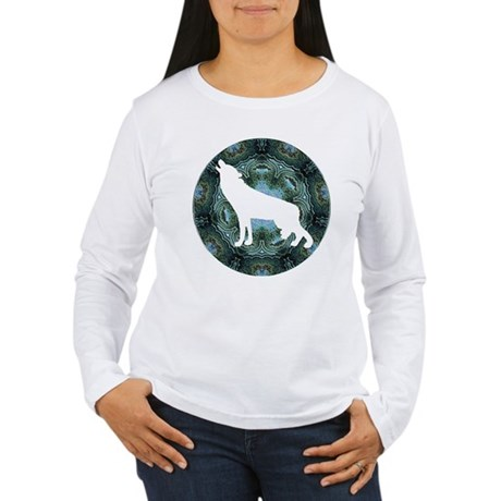 White Wolf Women's Long Sleeve T-Shirt