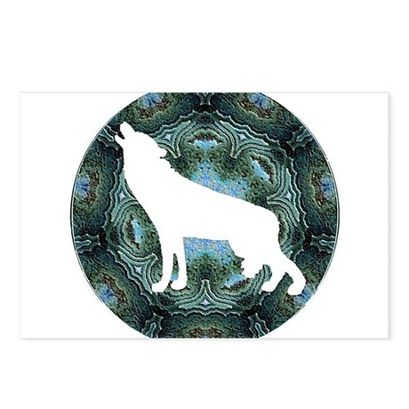 White Wolf Postcards (Package of 8)