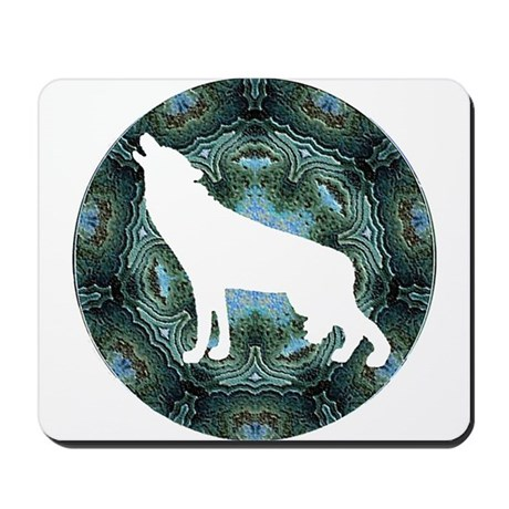 White Wolf Mousepad
