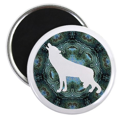 "White Wolf 2.25"" Magnet (10 pack)"