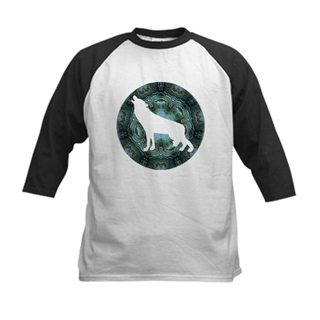 White Wolf Kids Baseball Jersey