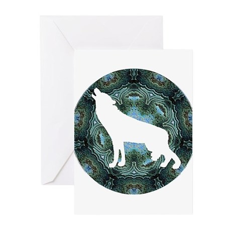 White Wolf Greeting Cards (Pk of 20)