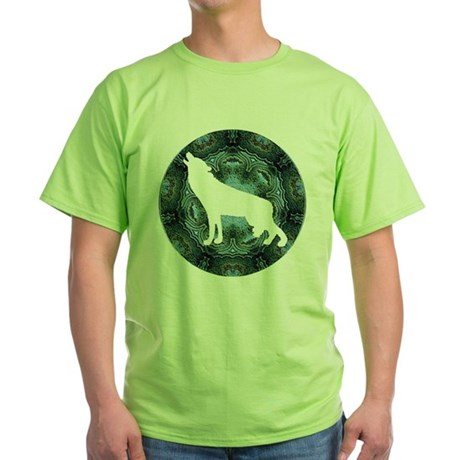 White Wolf Green T-Shirt