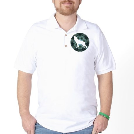 White Wolf Golf Shirt