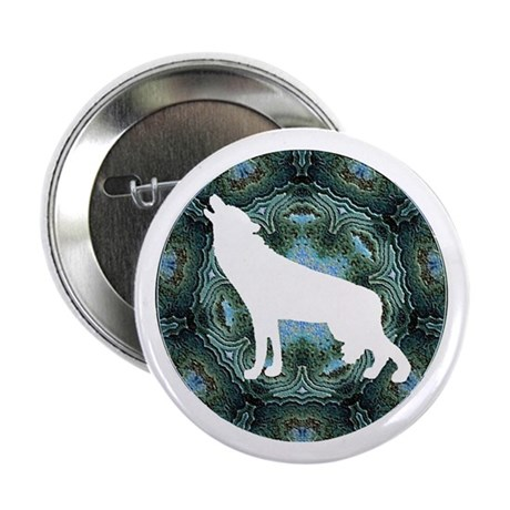 "White Wolf 2.25"" Button (10 pack)"
