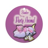 Slumber Party Animal Gifts Ornament (Round)