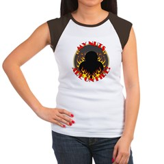 My Nuts Are On Fire Women's Cap Sleeve T-Shirt