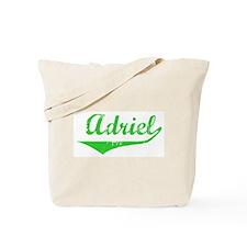 Adriel Vintage (Green) Tote Bag