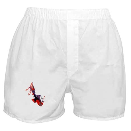 Paint Splat Saxophone Boxer Shorts