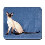 Seal point Siamese Cat Mousepad