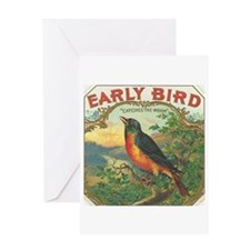 Early Bird Greeting Card