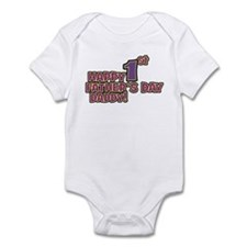 Happy 1st Fathers day Infant Bodysuit