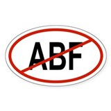 ABF Oval Decal