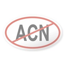 ACN Oval Decal