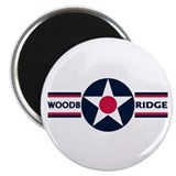 RAF Woodbridge 2.25&quot; Magnet