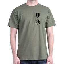 Staff Sergeant<BR>Green T-Shirt 1