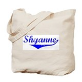 Shyanne Vintage (Blue) Tote Bag