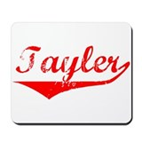 Tayler Vintage (Red) Mousepad