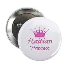 "Haitian Princess 2.25"" Button"