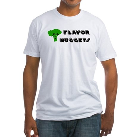 Flavor Nuggets Fitted T-Shirt