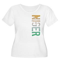 Niger Women's Plus Size Scoop Neck T-Shirt
