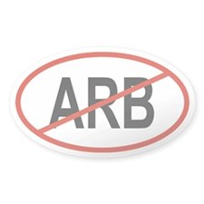 ARB Oval Decal