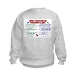 Irish Wolfhound Property Laws 2 Sweatshirt