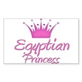 Egyptian Princess Rectangle Decal