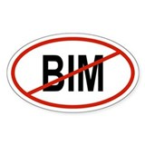 BIM Oval Decal
