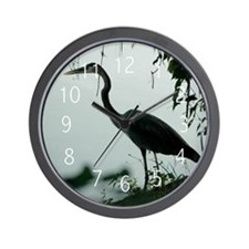 Heron Wall Clock