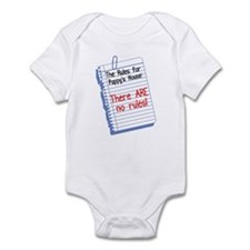 No Rules at Pappy's House Infant Bodysuit