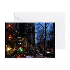 City Lights Christmas Card