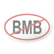 BMB Oval Decal