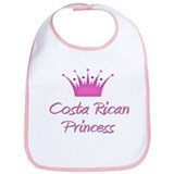 Costa Rican Princess Bib