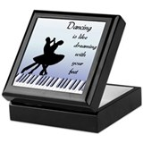 Dancing Keepsake Box
