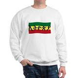ETHIOPIA -- Amharic with Flag Sweater
