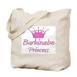 Burkinabe Princess Tote Bag