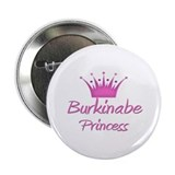 "Burkinabe Princess 2.25"" Button"