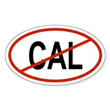 CAL Oval Decal
