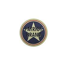 Patriot Brand Mini Button (10 pack)